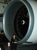 That's a big engine, Boeing 777