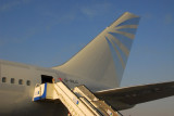 Silverjet Boeing 767 (G-SILC) Dubai Airshow 2007
