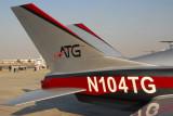 Action Aviation ATG Javelin Model 100 N104TG Dubai Airshow