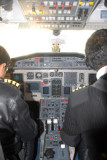 Cockpit of the Yeti Airlines J41