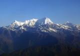 Pabil (7110m/23,326ft) Lapsang Karbo (7429m/24372ft) Himalaya north of Kathmandu, Nepal