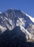 Lhotse (8516m/27,940ft) world's 4th highest mountain - Nepal/Tibet Himalaya