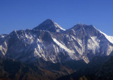 Mt Everest (8848m/29,028ft) Lhotse (8516m/27,940ft)