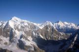 Just west of Lukla, Nepal Himalaya - Numbur (6957m/22,825ft) Khatang (6582m)