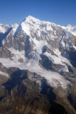 Mt. Numbur (6957m/22,825ft) and its glacier, Nepal
