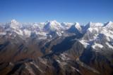 Nepal Himalaya from Gauri Sankar in the west to Pherago in the east