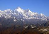 Shisha Pangma (8013m/26,289ft) on the left with Pungpa Ri and Nyanang Ri, Tibet