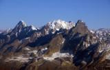 View NE back towards Gauri Shankar (7134m/23,406ft)