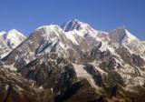 Shisha Pangma (8013m/26,289ft) and Molamenqing (7661m/25,134ft), Tibet