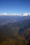Himalayan foothills near Kathmandu