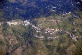 Terraced hillside, Himalaya foothills above Kathmandu, Nepal