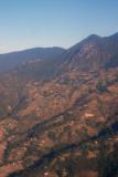 Terraced hillside near Kathmandu, Nepal