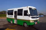 The Yeti Airlines bus after, Kathmandu