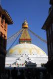 Bodhnath Stupa, near Kathmandu