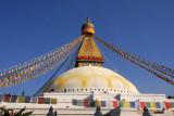 Bodhnath Stupa, original ca 600 AD, current structure 14th Century