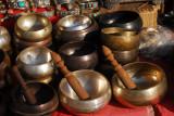Singing bowls, Bodhnath
