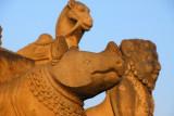 Rhino, Man-Lion, Camel, Siddhi Lakshmi Temple, Durbar Square, Bhaktapur