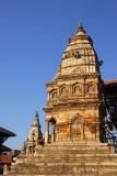 Side view of Siddhi Lakshmi Temple, Bhaktapur