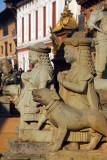 Guardians of the Siddhi Lakshmi Temple, Bhaktapur