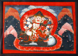 Different forms of Bhairava accompanied by his shakti, 19th Century