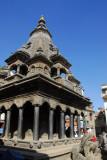 Shikhara-style stone temple, Mangal Bazar, SE of Durbar Square, Patan