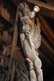 Roof beam, Erotic Elephant Temple, Bhaktapur