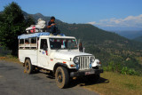 From the Prithvi Highway, you can catch a jeep like this for the 7km climb to Bandipur