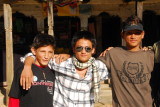 As a small town, I soon bumped into my school group from the Terai
