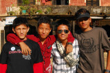 Nepalis are diverse, some looking almost European, or Oriental/Tibetan, or Indian