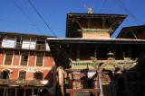 Bindebasini Mandir (temple) in the main square, Bandipur