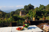 Terrace of the Old Bandipur Inn (recommended)