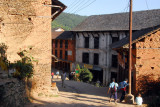 Road from the bus stop to main street, Bandipur
