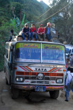Nepali bus, Bandipur