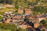 Town center of Bandipur from Gurungche Hill