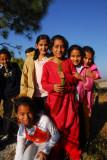 Nepali girls, Bandipur