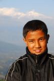 Portrait, Nepali boy, Bandipur