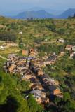 Bandipur, descending Gurungche Hill