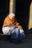Old woman, Bandipur