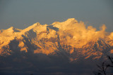 Himalchuli (7893m/25,895ft) evening view from Bandipur