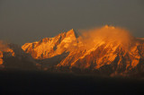 Manaslu (8156m/26,759ft) world's 8th tallest - with Ngadi Chuli (7871m) partially obscured