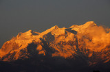 Himalchuli (7893m/25,895ft) in the evening, Bandipur