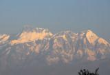 Annapurna II and Lamjung Himal seen from Bandipur