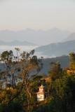 Fog covered valleys below Bandipur