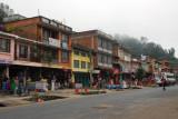Prithvi Highway passing through Dumre, Nepal