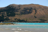 Foothills of the Southern Alps on the far shore of Lake Tekapo