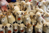 Stuffed sheep toys, The Wrinkly Rams, Omarama