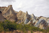 The Omarama Clay Cliffs are a tiny slide of Utah in the center of the south island