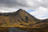 Rte 8 through Lindis Pass Scenic Reserve between Omarama and Tarras