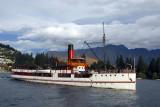 TSS Earnslaw - 50m ship capable of 13 knots