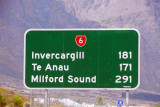 Te Anau is a good place to stop for the night on the trip to Milford Sound from Queenstown